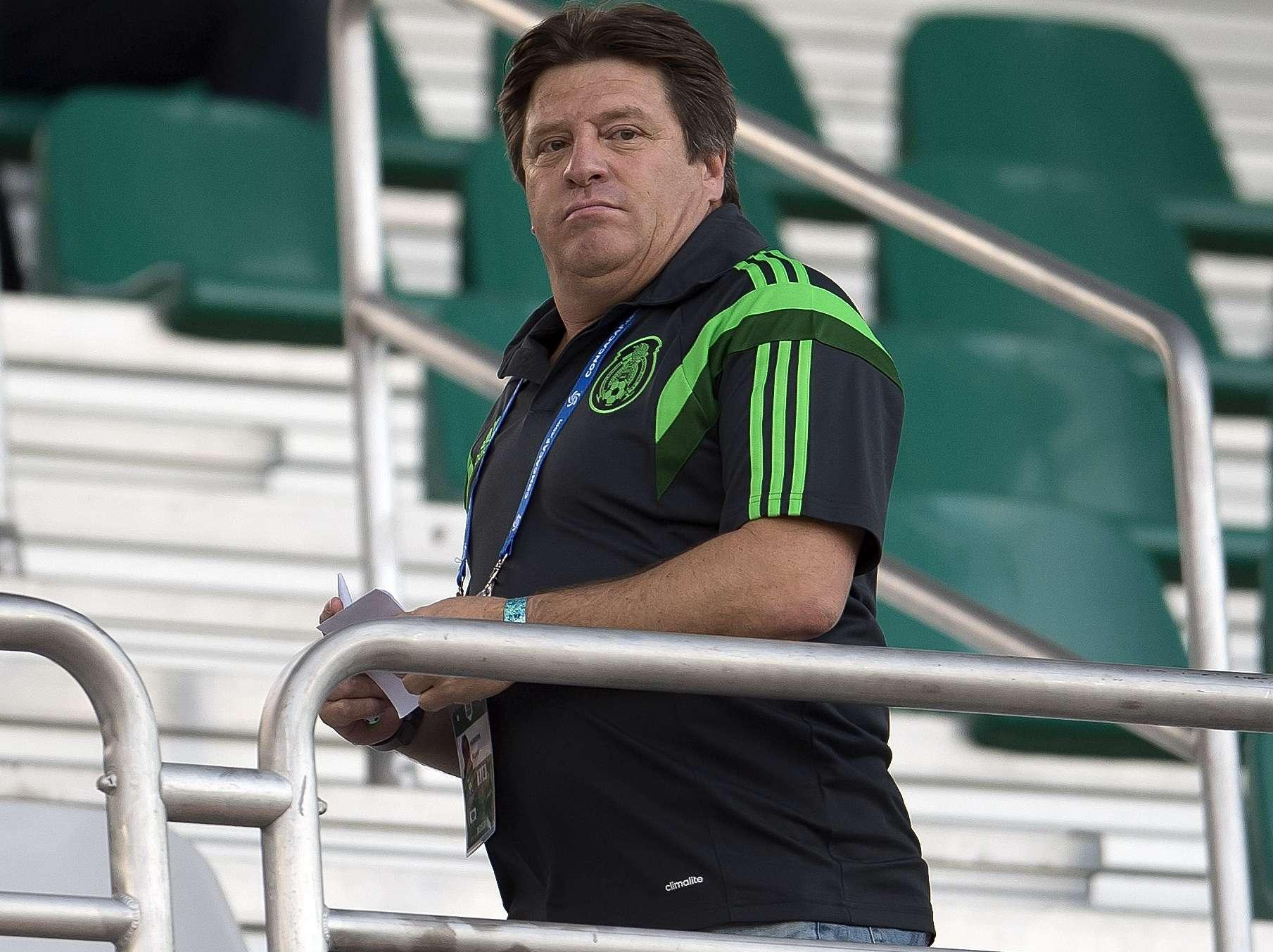 Miguel Herrera, director técnico de la Selección Mexicana. Foto: Mexsport