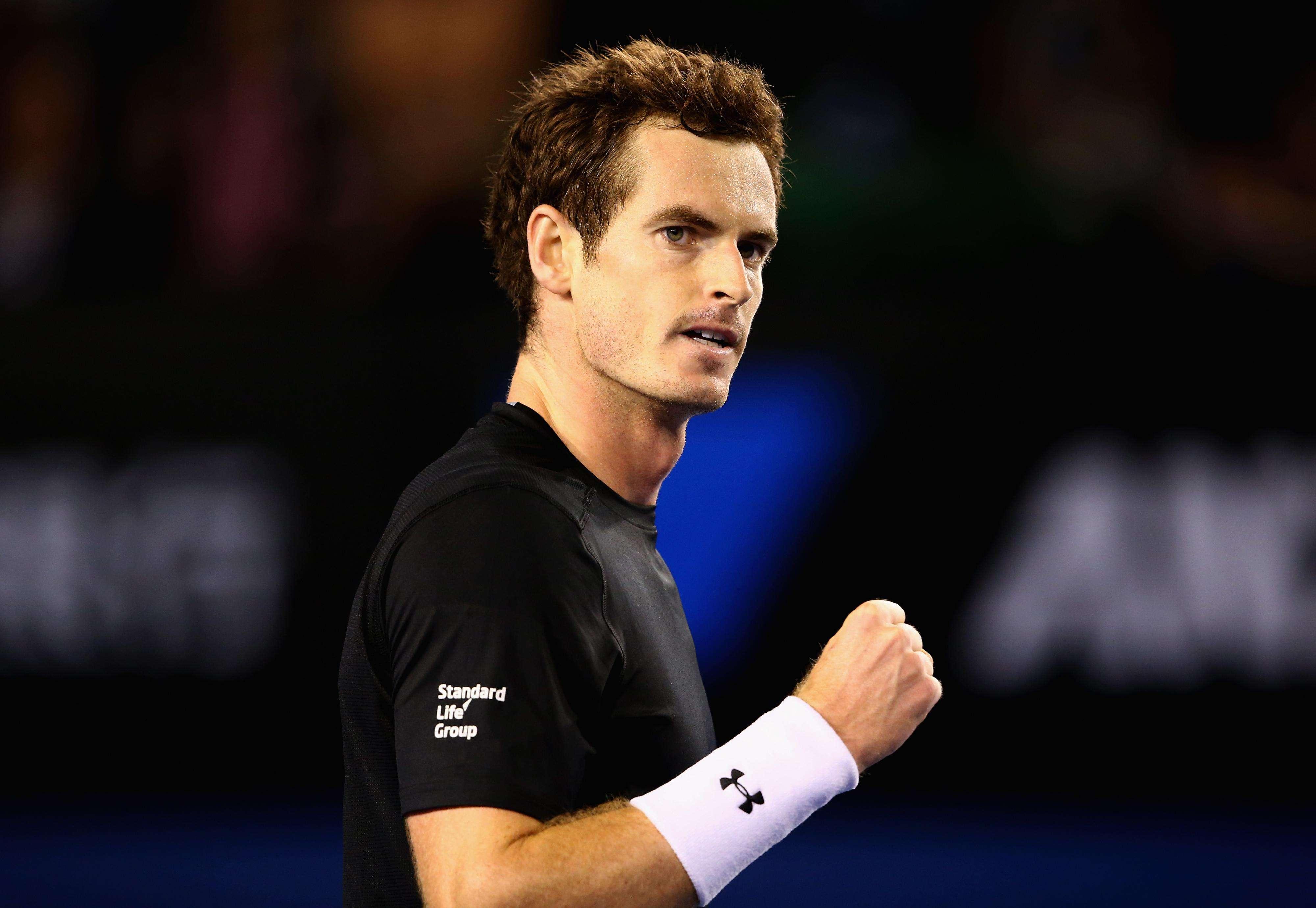 Murray venceu o búlgaro por 3 a 1 para avançar em Melbourne Foto: Clive Brunskill/Getty Images