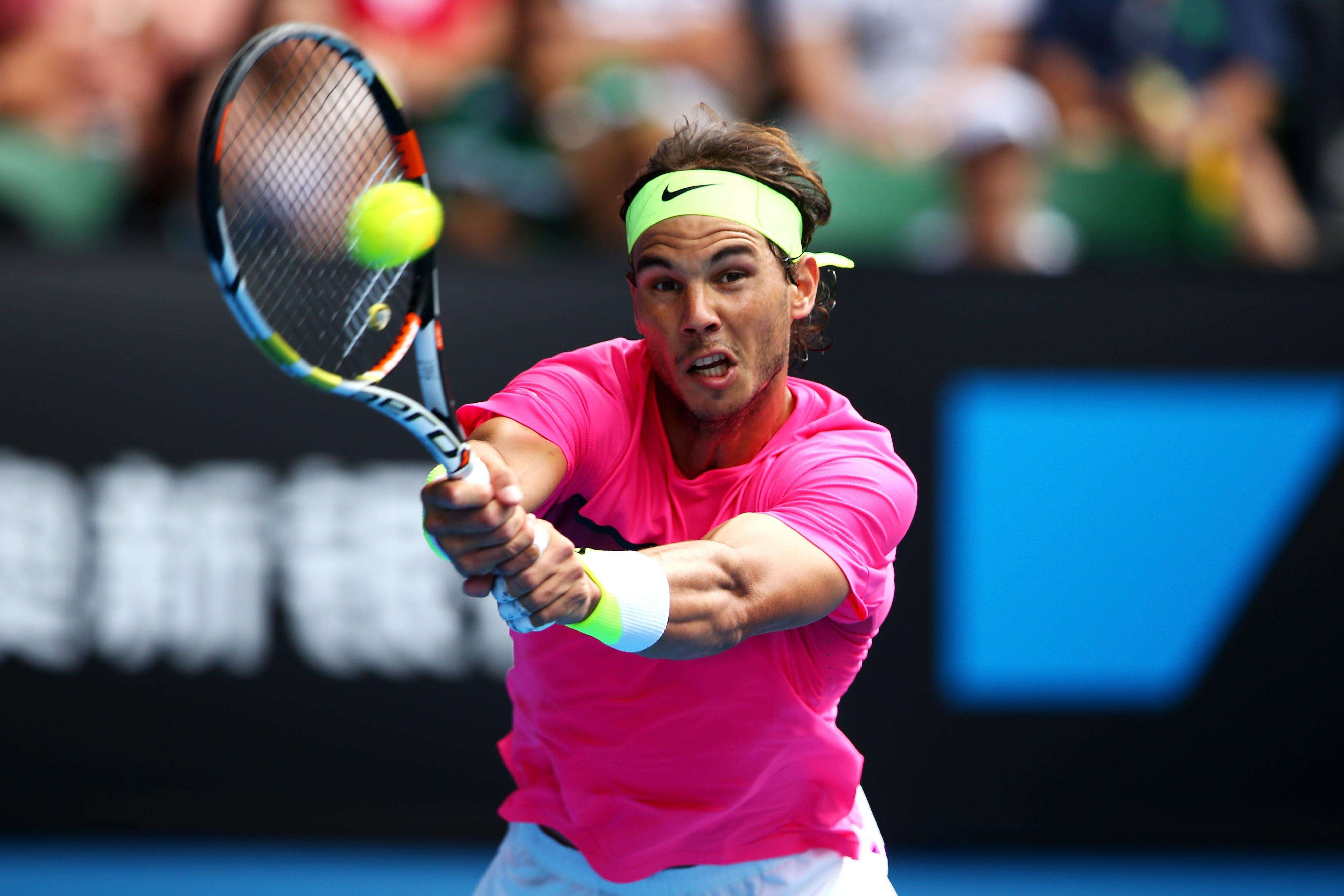 Nadal avanza a cuartos de final Foto: Getty Images