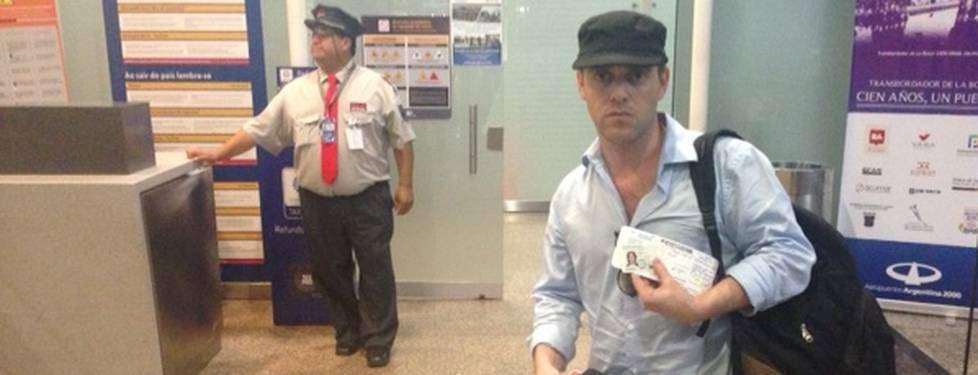 El periodista del Buenos Aires Herald partió de Argentina. Foto: Twitter