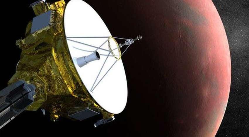 Sonda da Nasa se aproxima de Plutão após 9 anos de voo Foto: Twitter