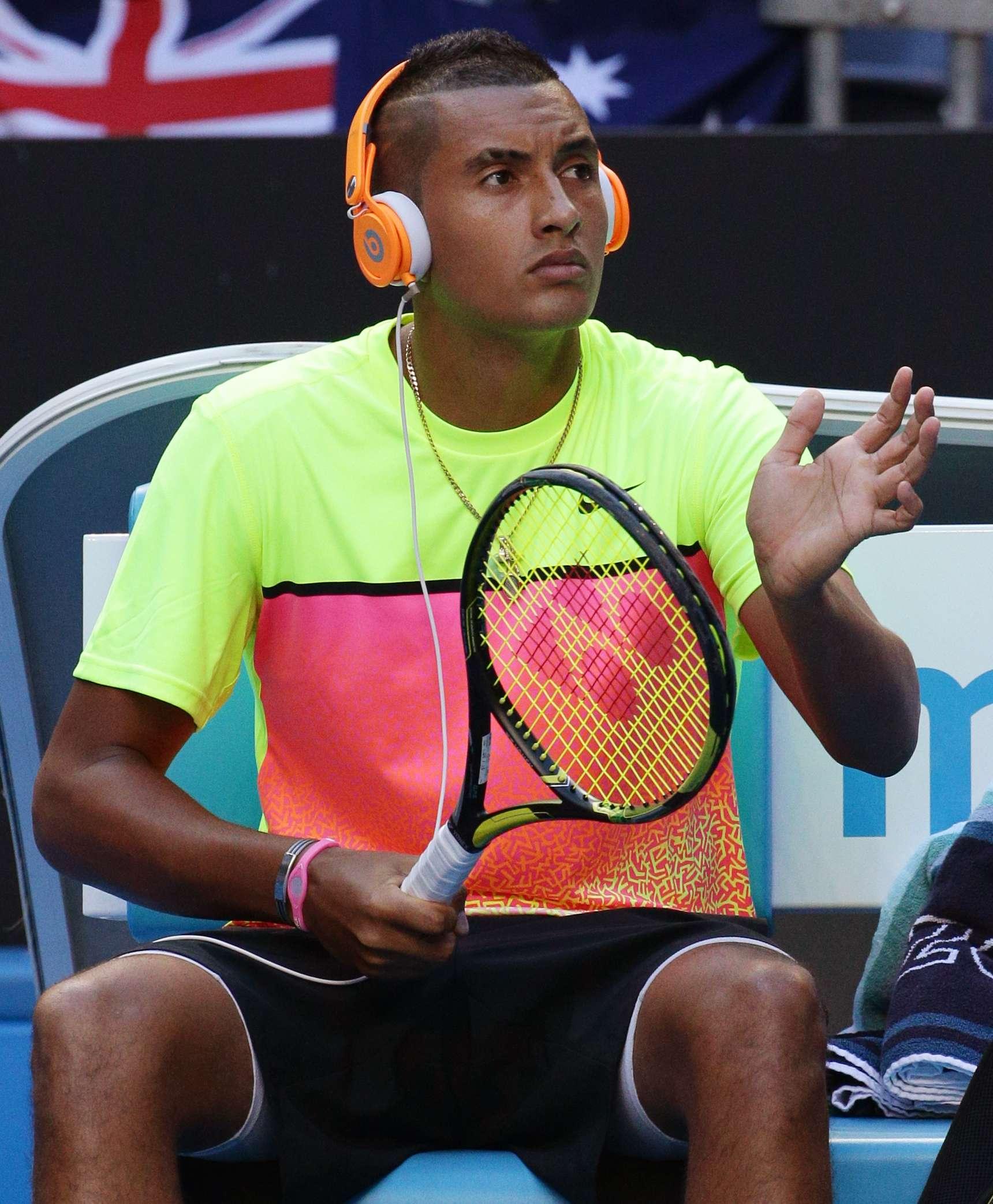 De tan sólo 19 años de edad, Nick Kyrgios es la máxima promesa del tenis australiano. Kyrgios nació en Camberra y mide 1.89 metros. Tras eliminar a Andreas Seppi, ya está en cuartos del Abierto de Australia Foto: AP