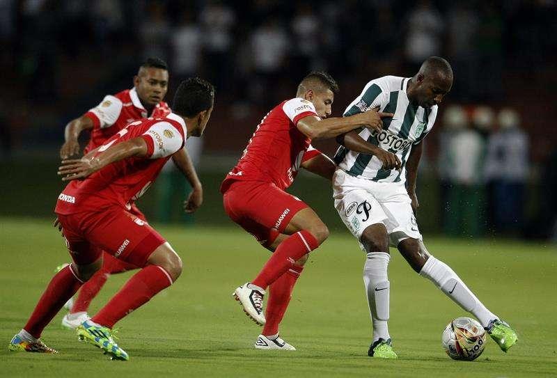 Nacional ganó 2-1 en Medellín. Foto: EFE en español