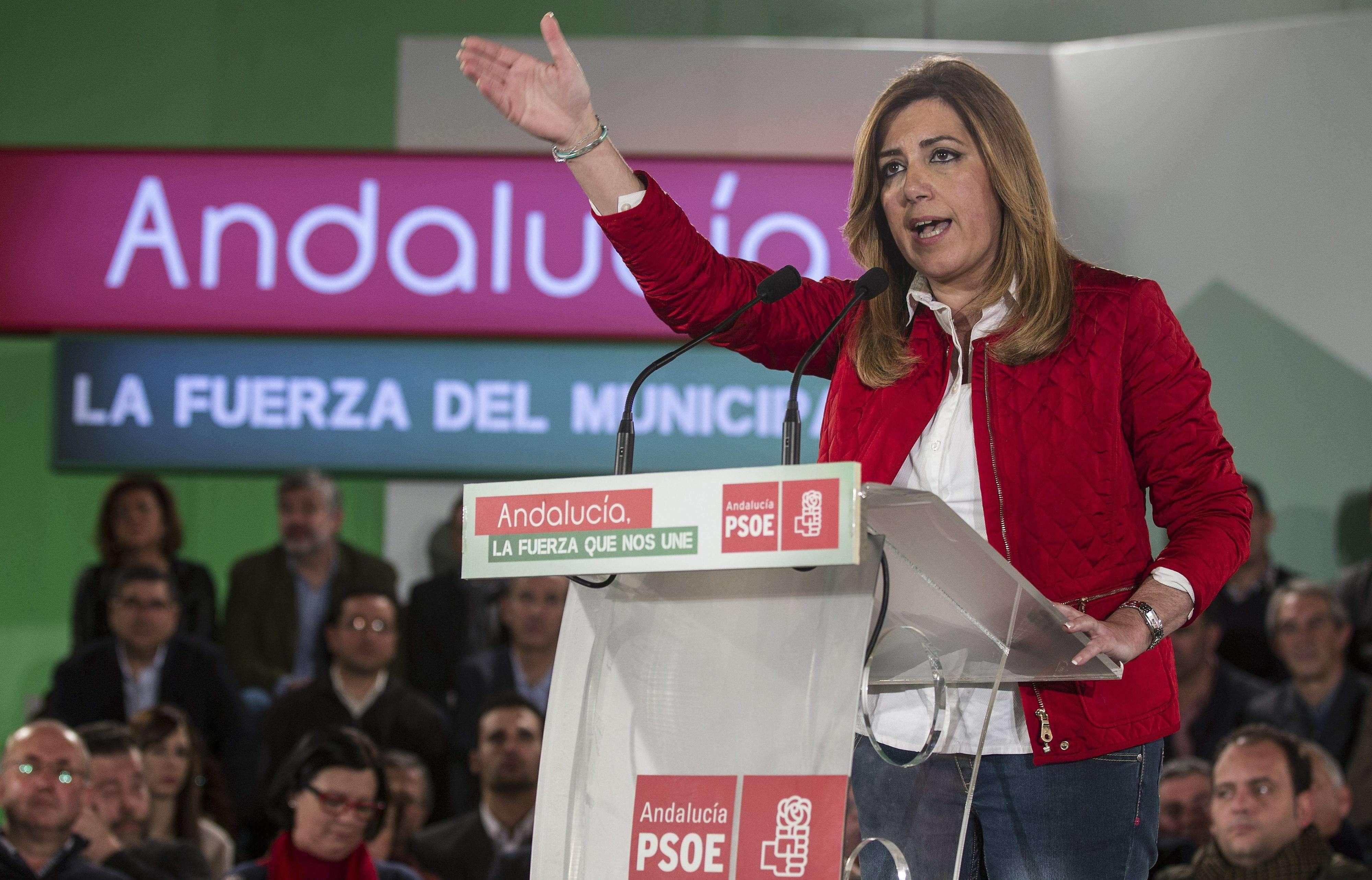 Susana Díaz, presidenta de la Junta de Andalucía. Foto: EFE en español