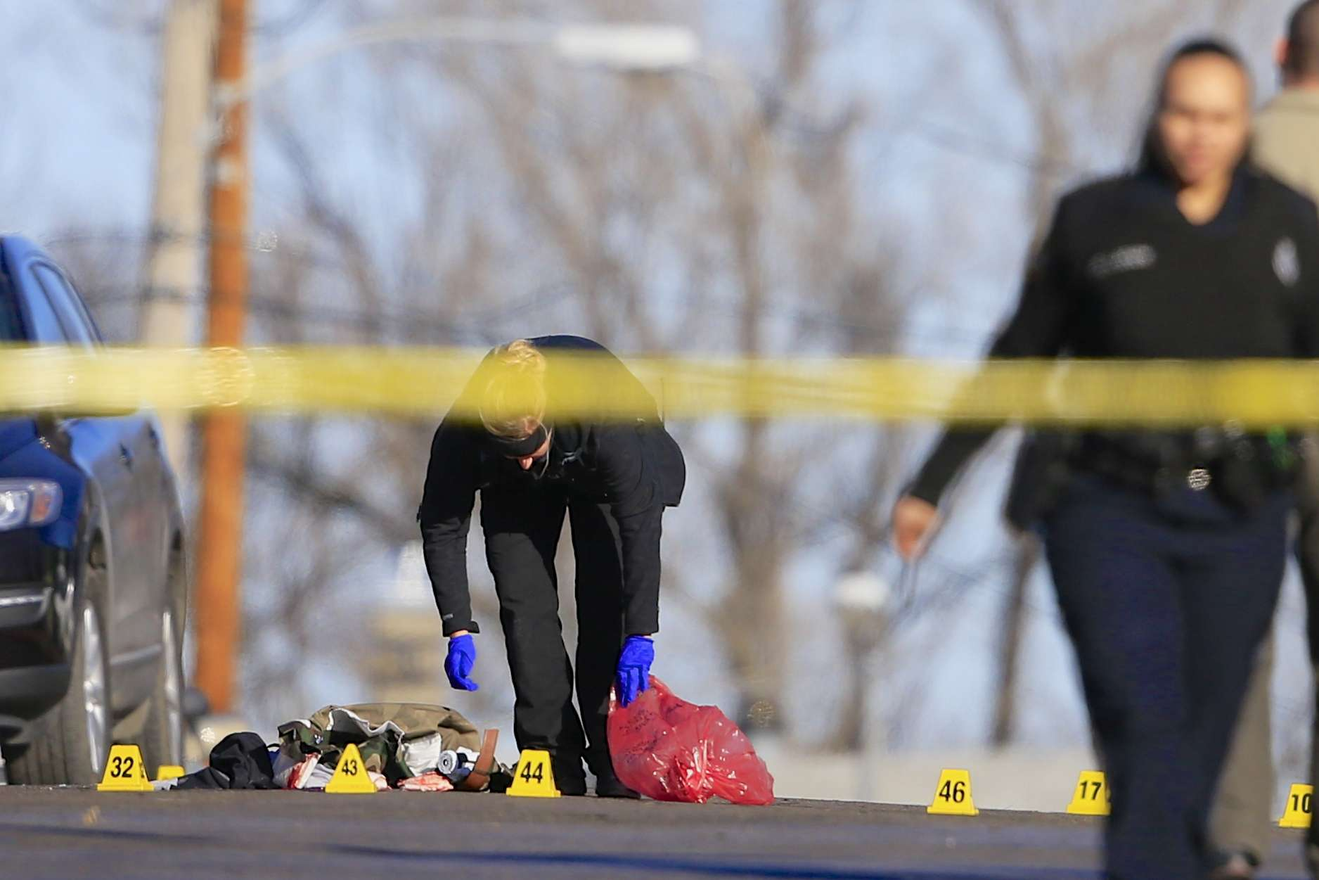 El tiroteo se desarrolló en medio de una fiesta que se realizaba en una casa vacía en la ciudad de Omaha. Foto: AP en español