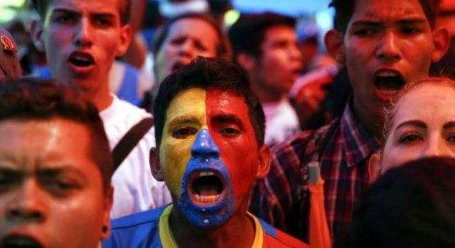 En Caracas, la marcha de la oposición no fue masiva, pero inauguró lo que los opositores esperan sea un movimiento de calle que logre un cambio a corto plazo. Foto: Reuters en español