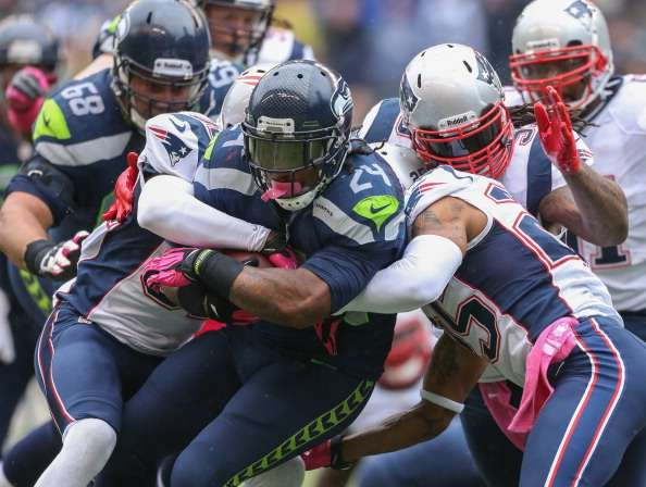 Lynch y su fortaleza son la clave para los Seahawks. Foto: Getty Images
