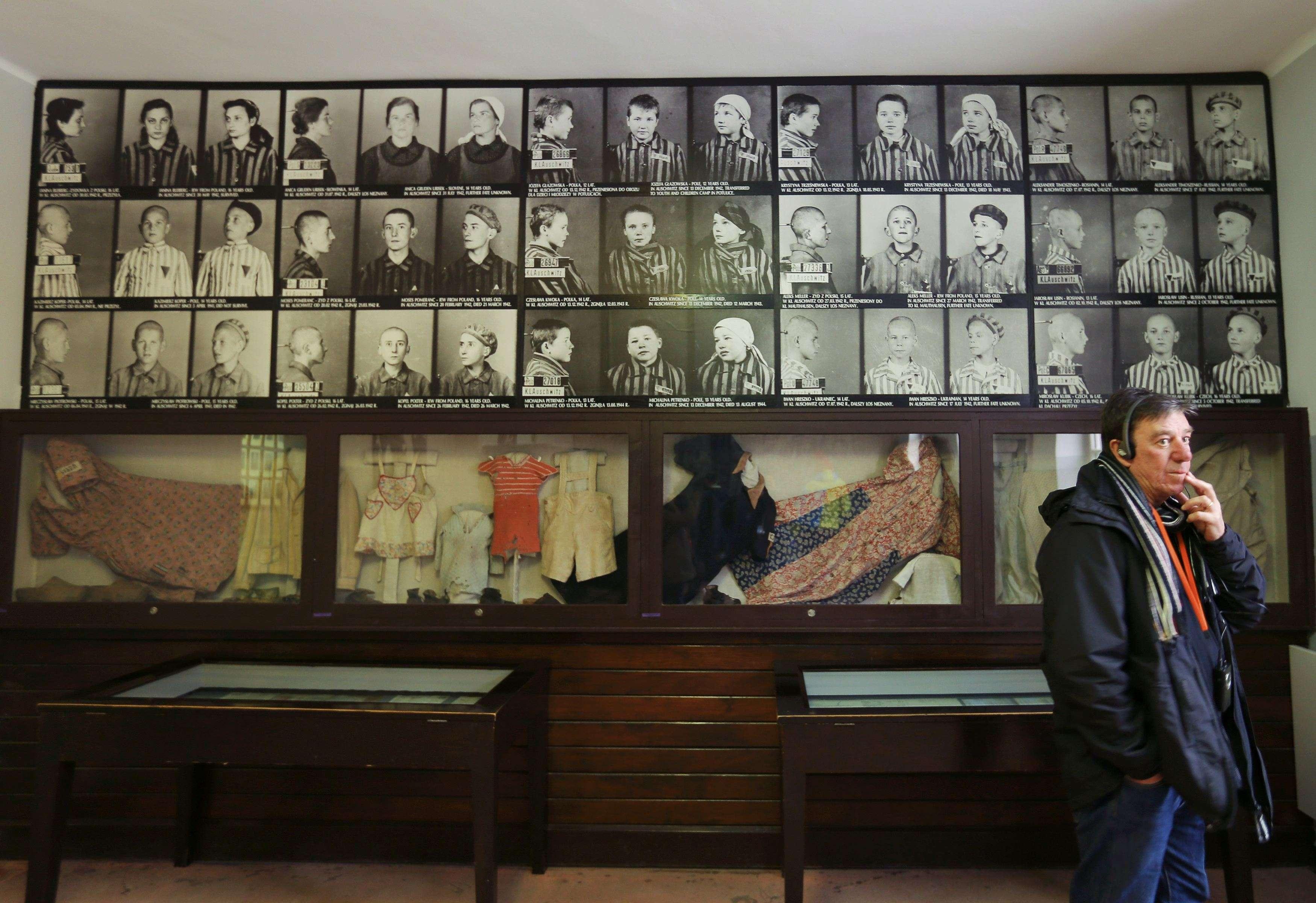 Museo del antiguo campo de concentración y exterminio nazi de Auschwitz, el 26 de enero de 2015. ceremonias con motivo del 70 aniversario de la liberación del campo tendrán lugar al día siguiente, con la participación de 300 exprisioneros. Foto: Reuters en español