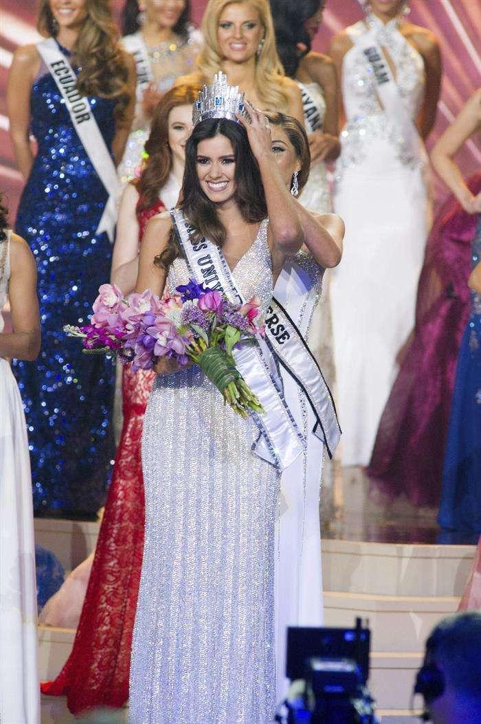 Miss Colombia es Miss Universo 2014/2015 Foto: EFE en español