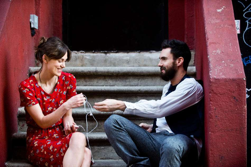 Adam Levine debutó como actor en 'Begin Again', una cinta dirigida por John Carney y protagonizada por Keira Knightley y Mark Ruffalo. Foto: Exclusive Media Group
