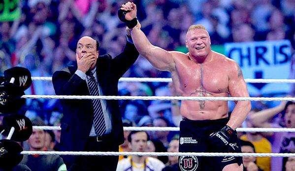 Brock Lesnar Foto: Tomada de http://www.wwe.com/