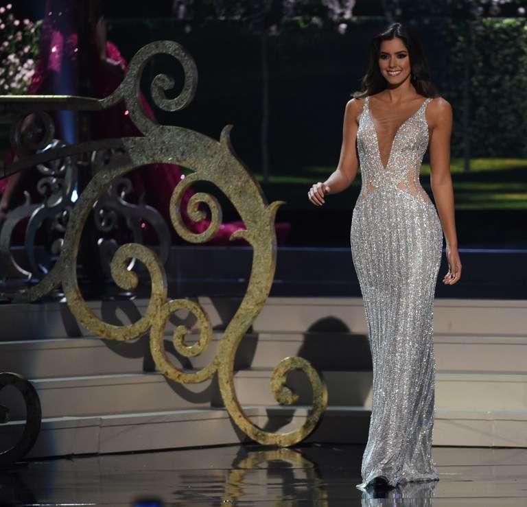 Miss Colombia es la ganadora de Miss Universo 2015. Foto: AFP