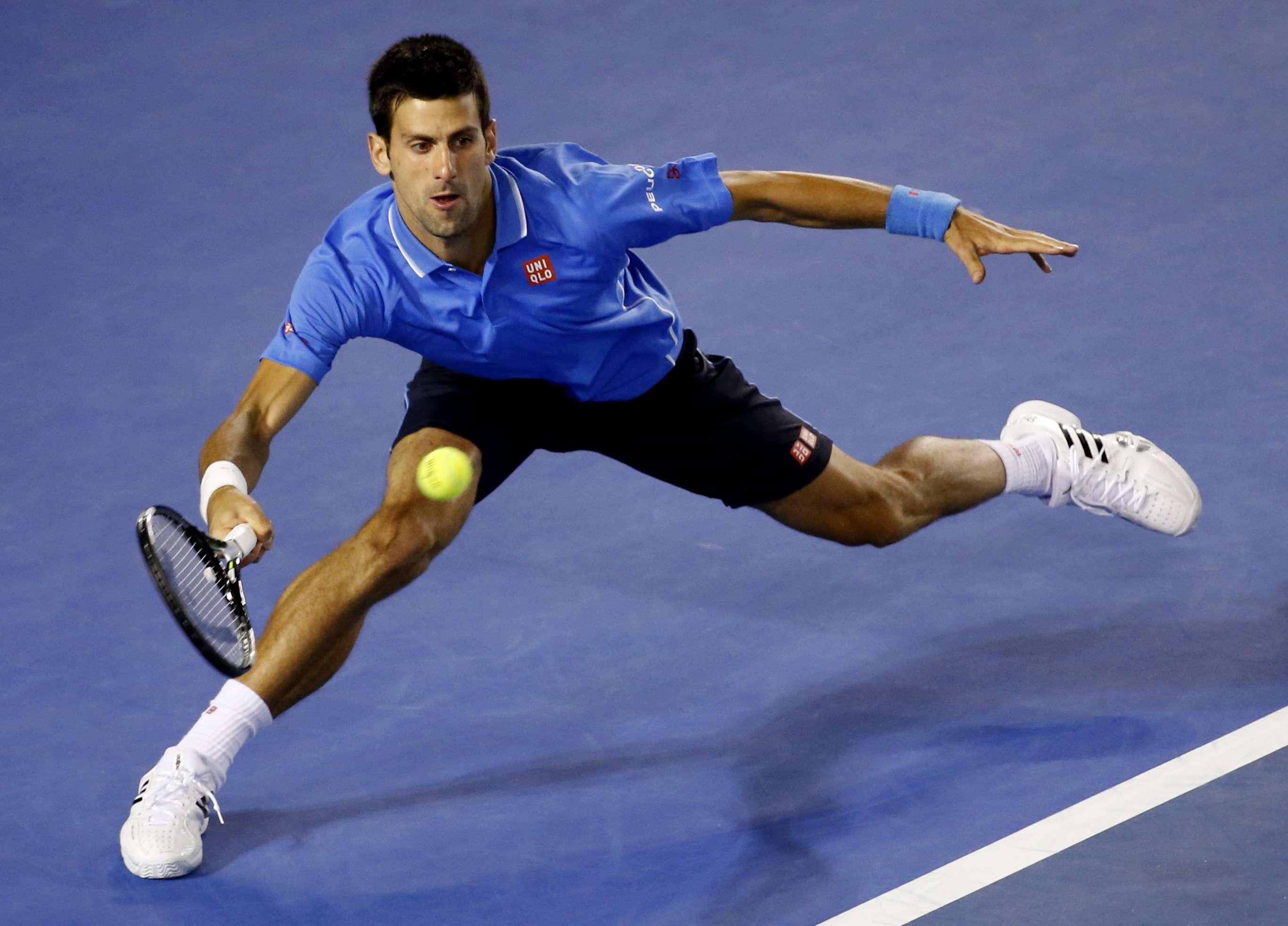Djokovic controlou jogo mais uma vez; 12 games e nenhum perdido Foto: Vincent Thian/AP