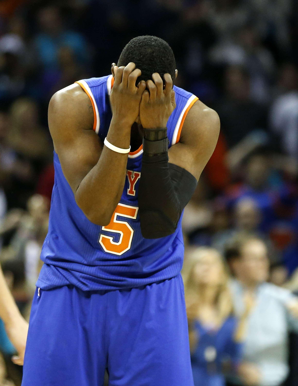 Los Knicks no podrán jugar contra los Kings esta noche. Foto: AP