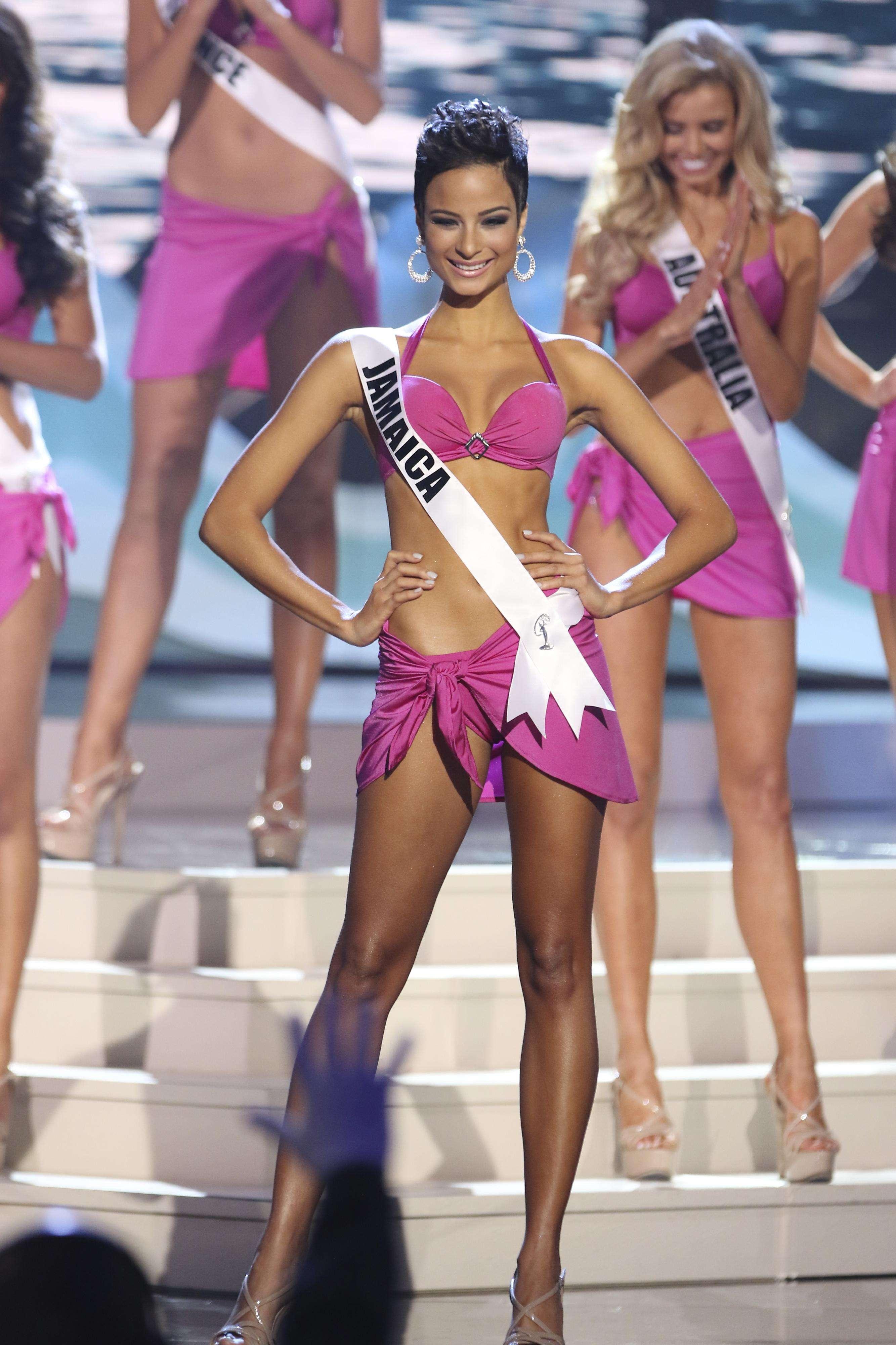 A 63ª edição do Miss Universo foi realizado em Miami, nos Estados Unidos, na noite desse domingo (25). Foto: Alexander Tamargo/Getty Images