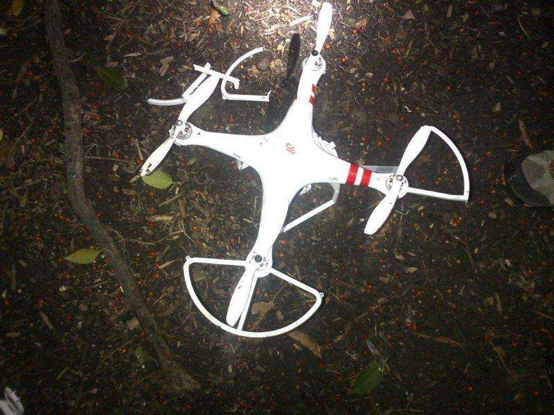 Imagem do drone que caiu na Casa Branca, em Washington, nesta segunda-feira. 26/01/2015 Foto: Serviço Secreto dos EUA/Reuters