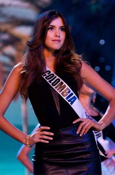 A nova Miss Universo é colombiana e aposta em estilo clássico e tradicional Foto: Paulina Veja Dieppa/Reprodução/Facebook