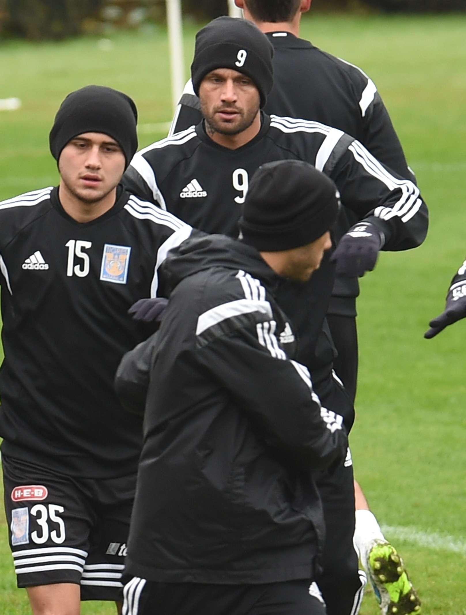 Rafael Sobis va para dos semanas de trabajo físico y ya busca sus primeros minutos con Tigres. Foto: Mexsport