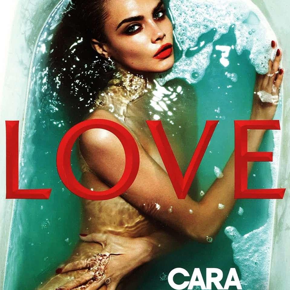 Cara Delevingne Foto: Love Magazine