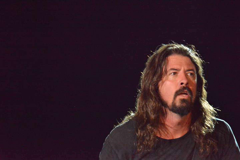 Dave Grohl se apresenta com o Foo Fighters no Maracanã, no Rio de Janeiro Foto: Carlos Monteiro/Futura Press