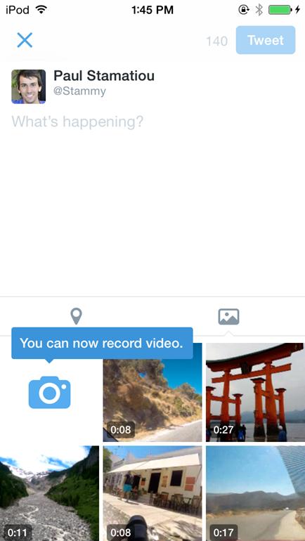Novas funcionalidades tentam frear crescimentos de outros apps, como WhatsApp e Instagram Foto: Twitter/Divulgação