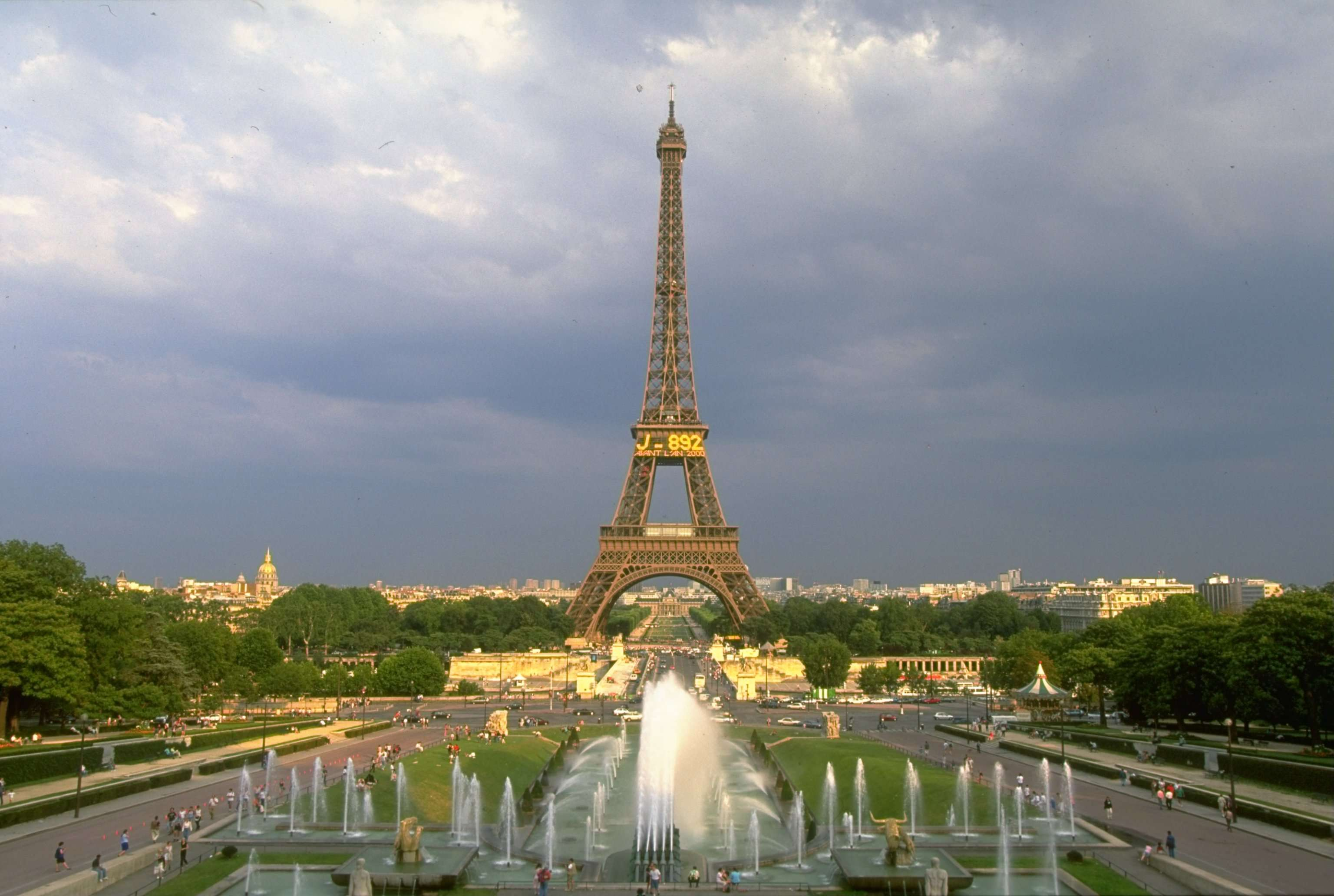 Torre Eiffel Foto: Getty Images