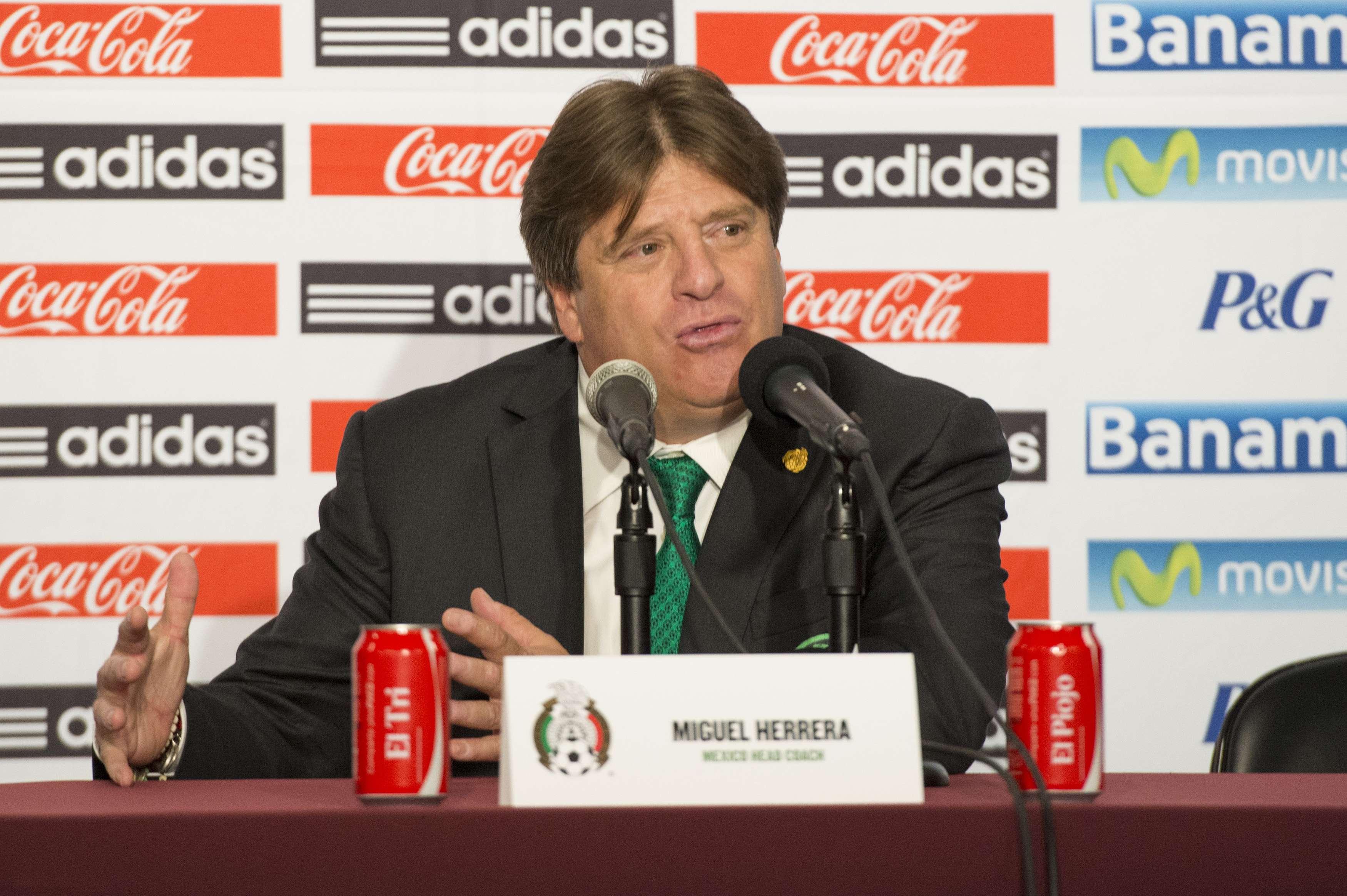 Miguel Herrera, director técnico de México Foto: Mexsport