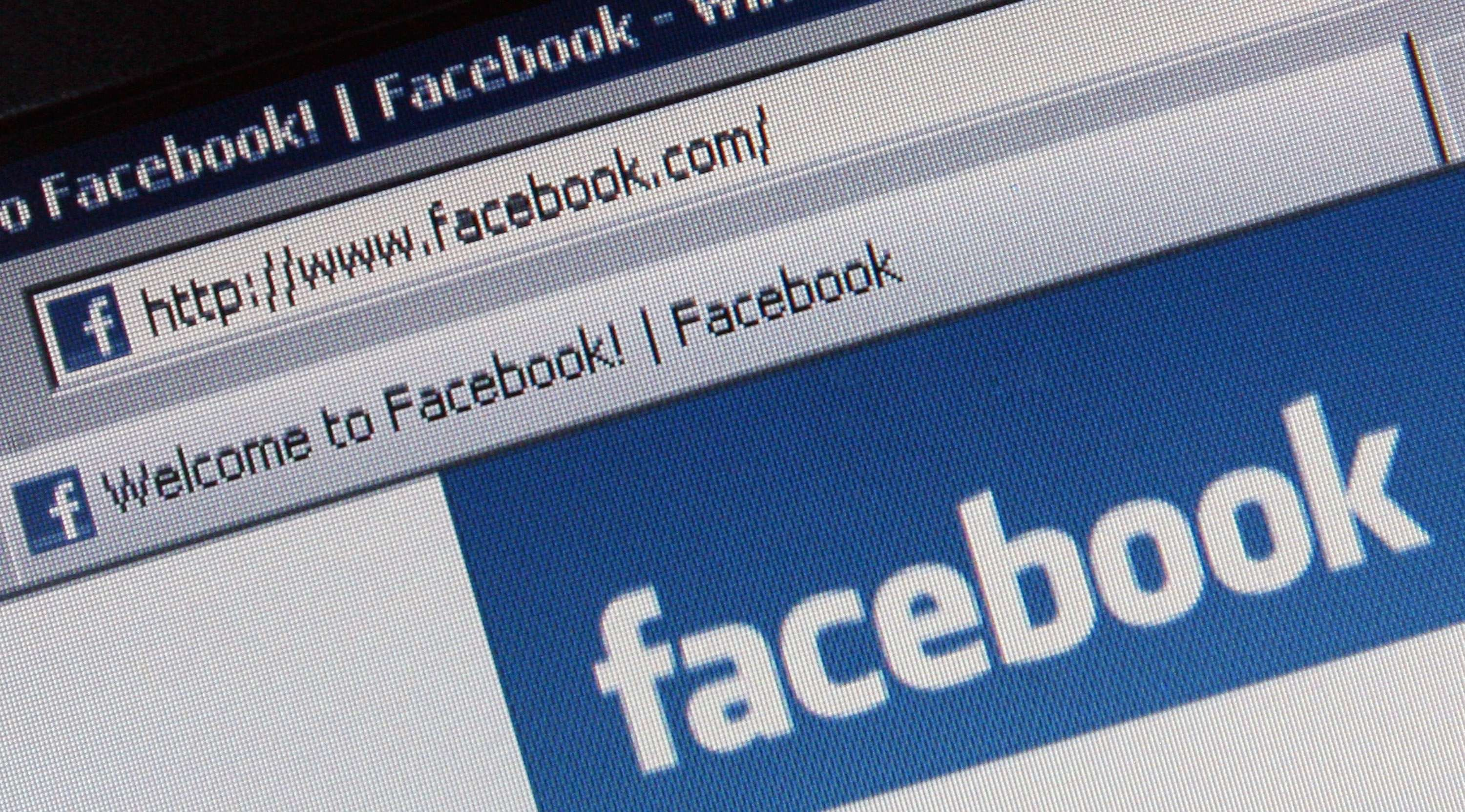 La red social Facebook ha dejado de funcionar durante hora y media Foto: Getty