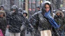 Nevasca em Nova York (foto: AP) Foto: BBC Mundo/Copyright