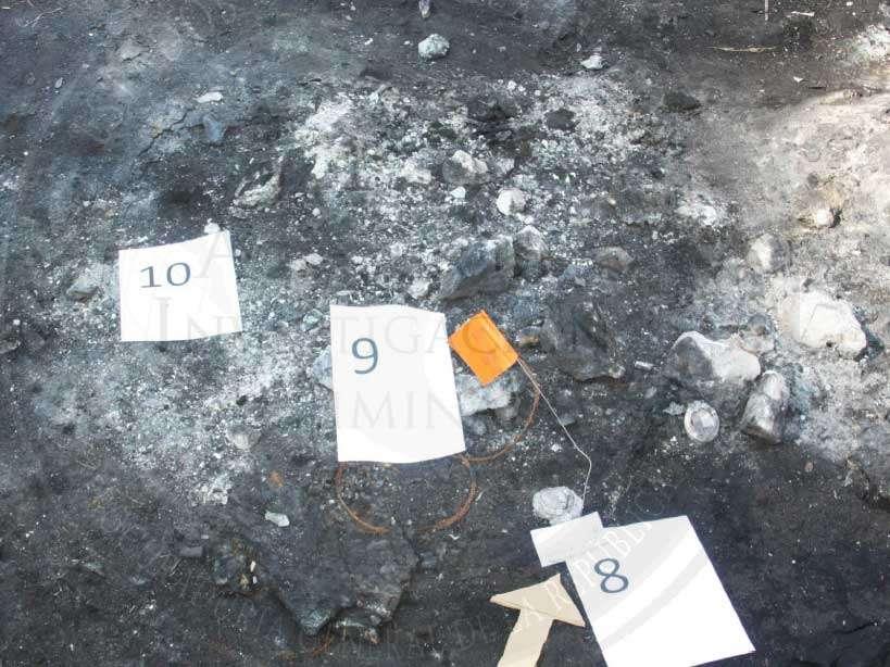 La PGR presentó dos videos: uno con imágenes de las características del basurero de Cocula y otro que explica los hechos de Iguala. Foto: PGR