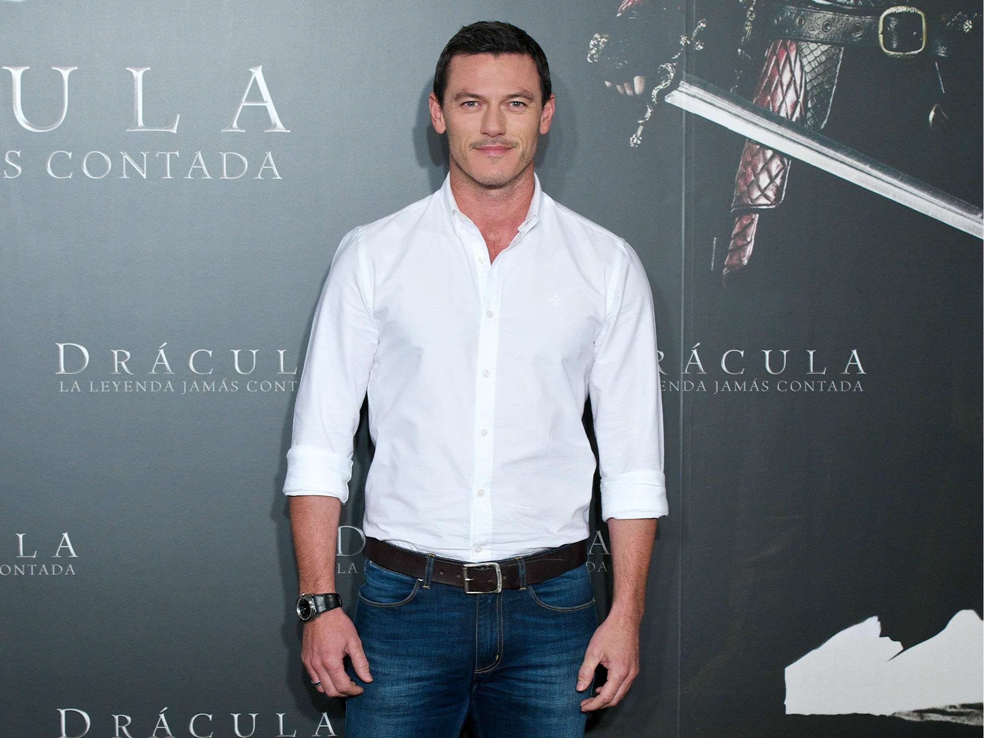 Luke Evans. Foto: Getty Images