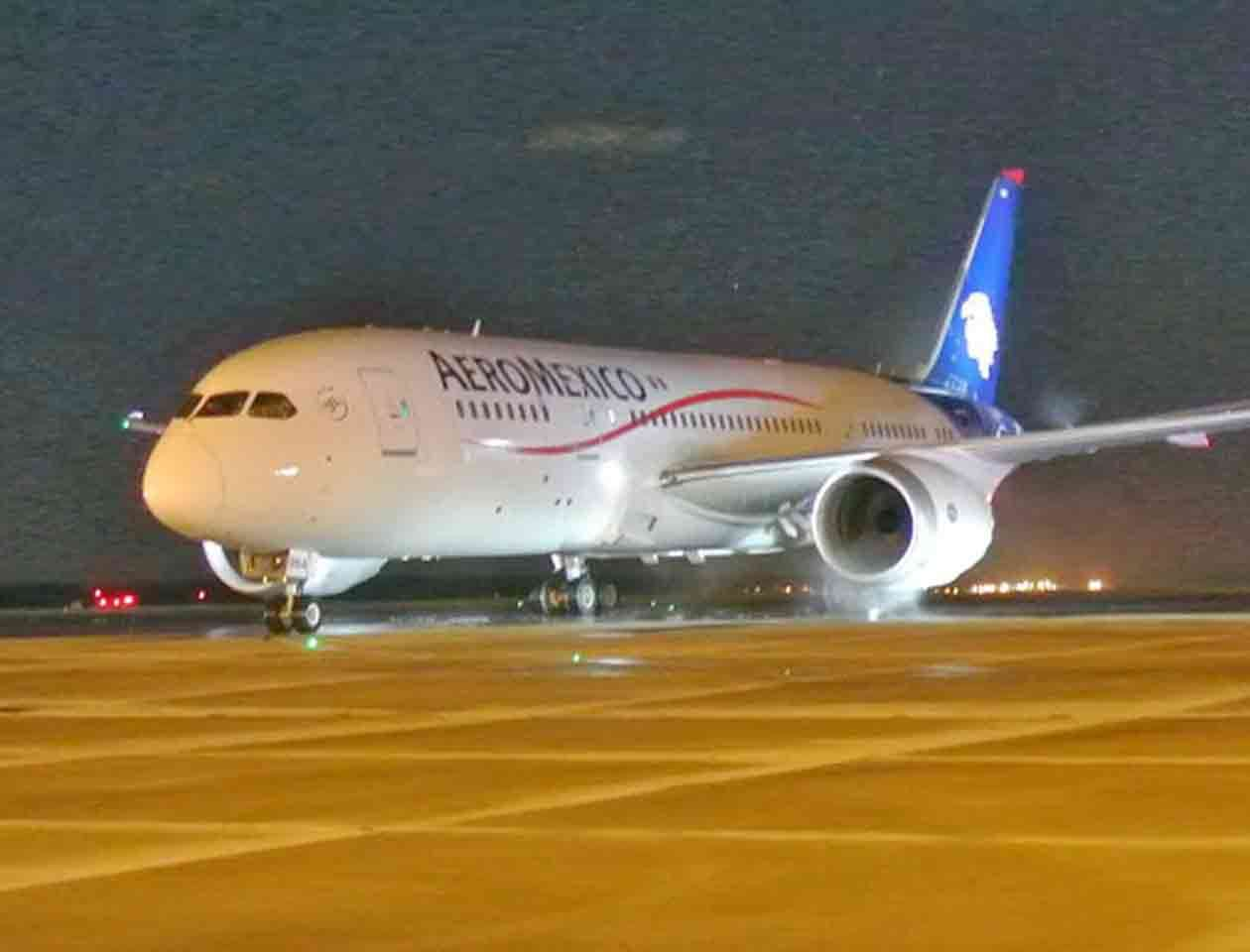En Aeroméxico, si el pasajero decide no utilizar el servicio, el boleto cuenta con un año de vigencia a partir de la fecha de expedición Foto: Notimex/Archivo