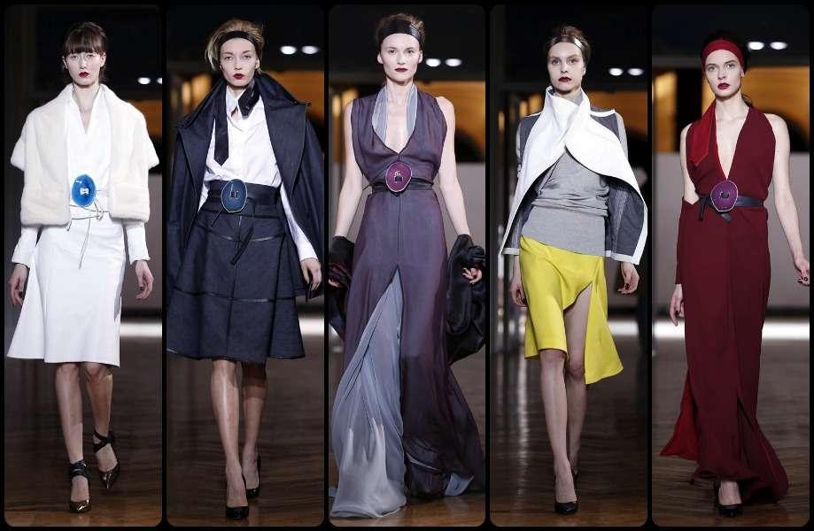 Diseños de Gustavo Lins en la Semana de la Moda de París. Foto: EFE