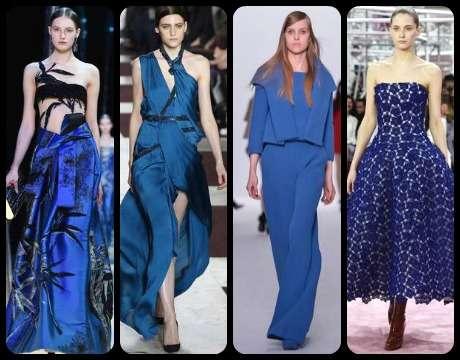 De izquierda a derecha: Armani, Yiquing Yin, Dice Kayek y Dior. Foto: Getty Images