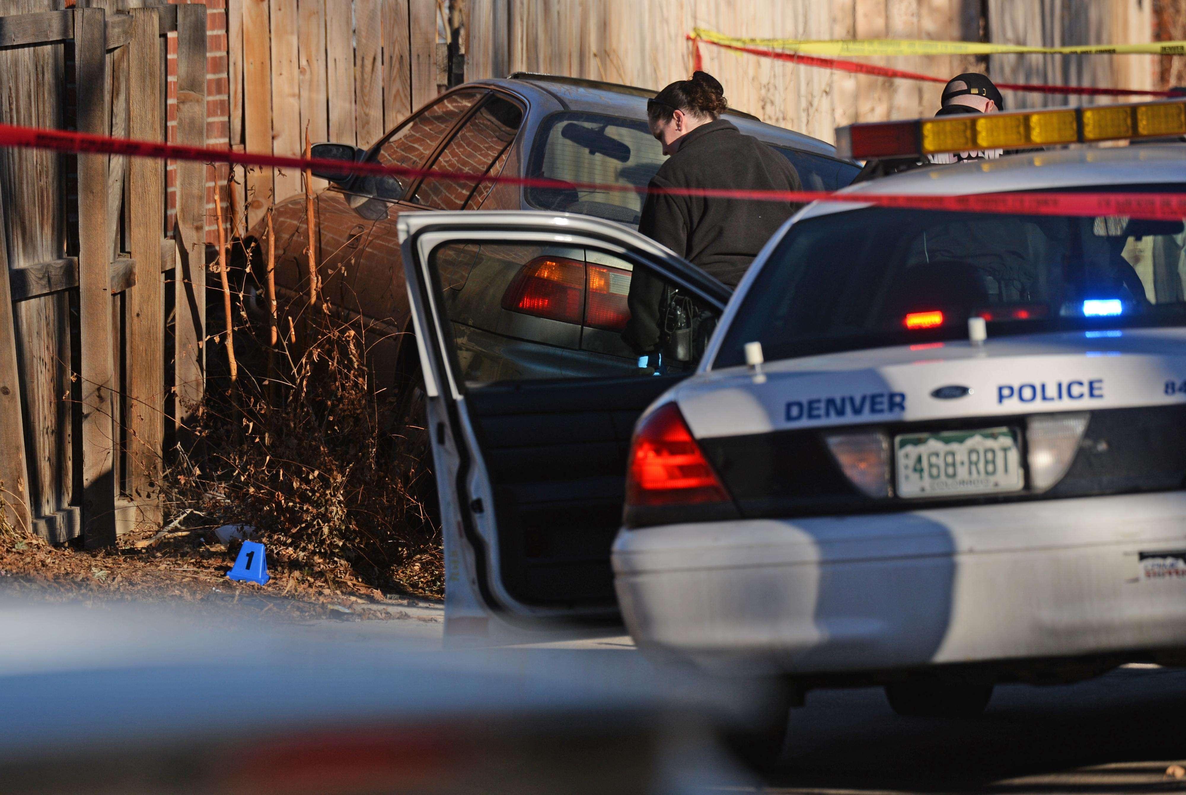 Lugar de la escena del fatal suceso registrado Foto: AP en español