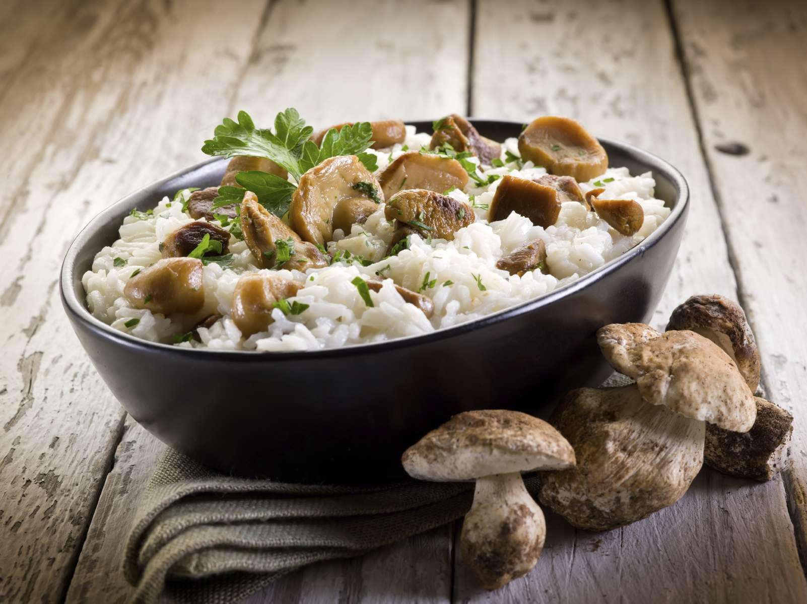El risotto es un plato típico en el noreste de Italia, pero muy popular en Argentina. Foto: isto