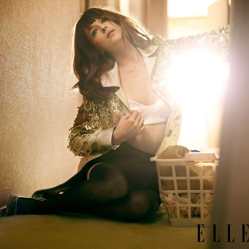 Dakota Johnson Foto: ELLE Magazine