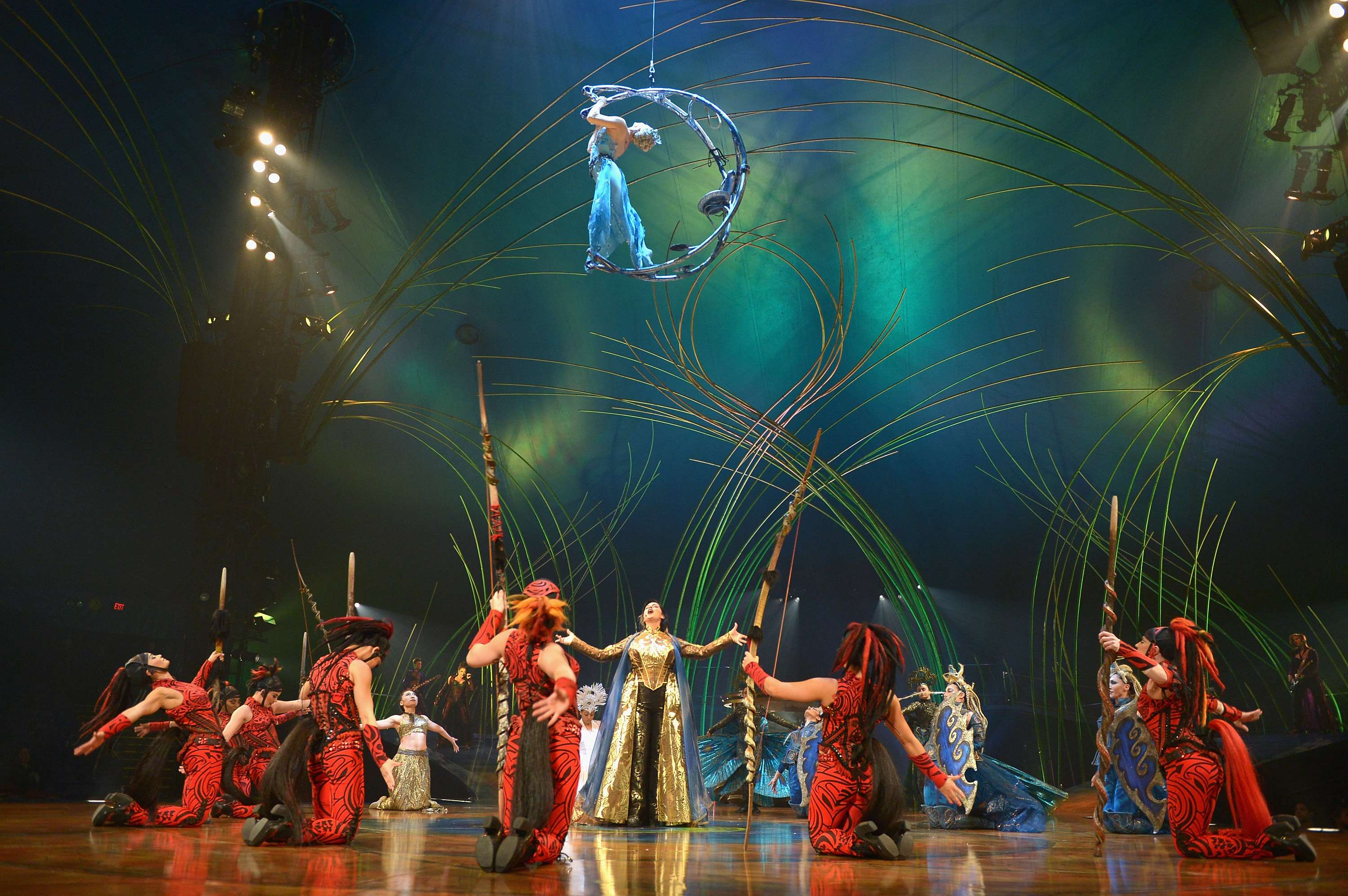 """Amaluna"", Circo del Sol Foto: Getty Images"