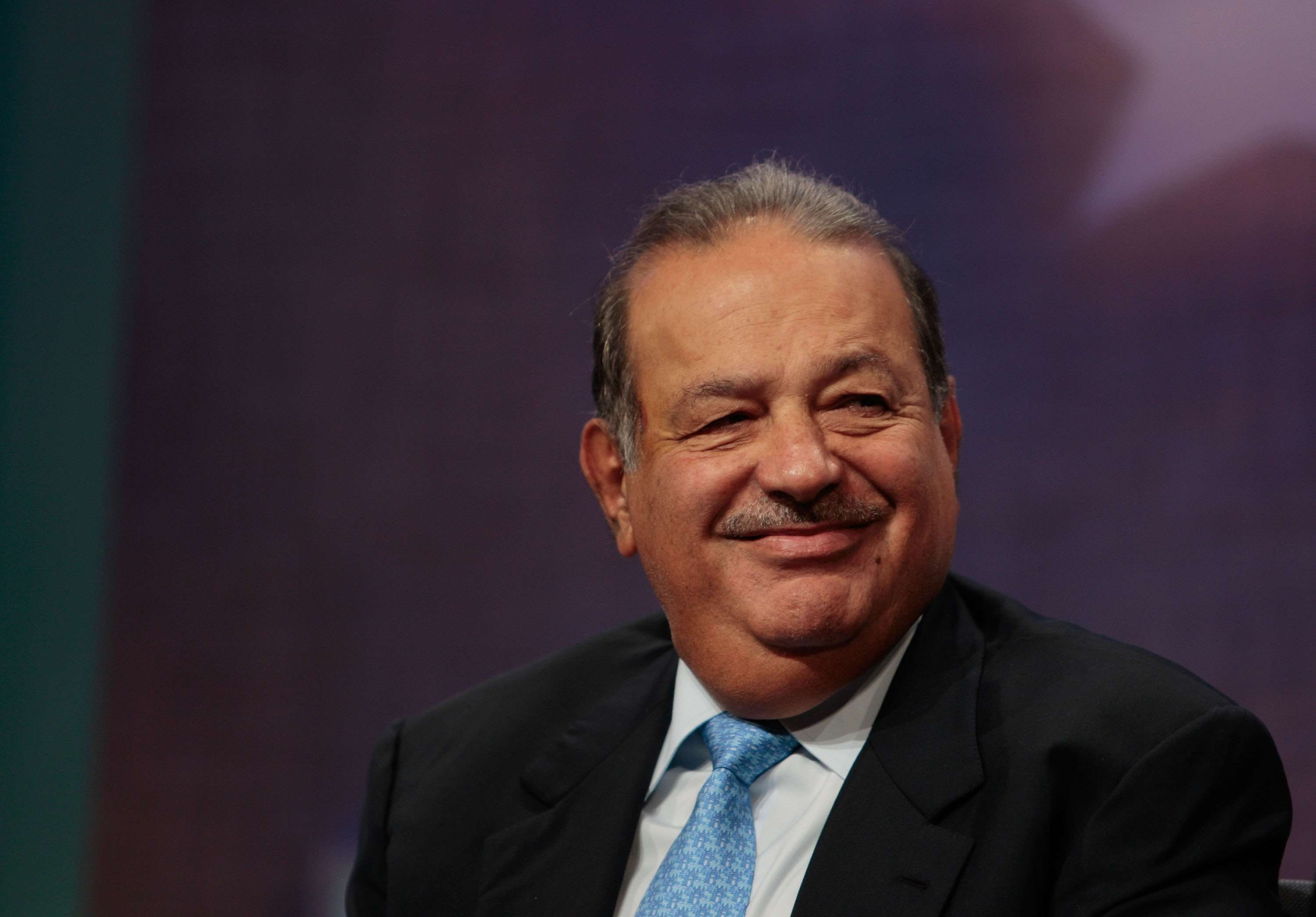 Carlos Slim cumple 75 años con una fortuna de 73 mil 600 mdd. Foto: Getty Images