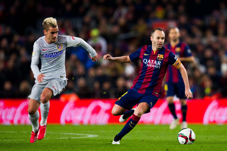 Atlético de Madrid vs. Barcelona Foto: Gettty Image