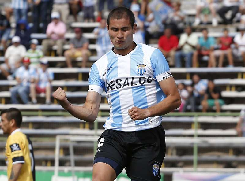 Carlos González fue goleador de Primera B. Foto: Agencia UNO