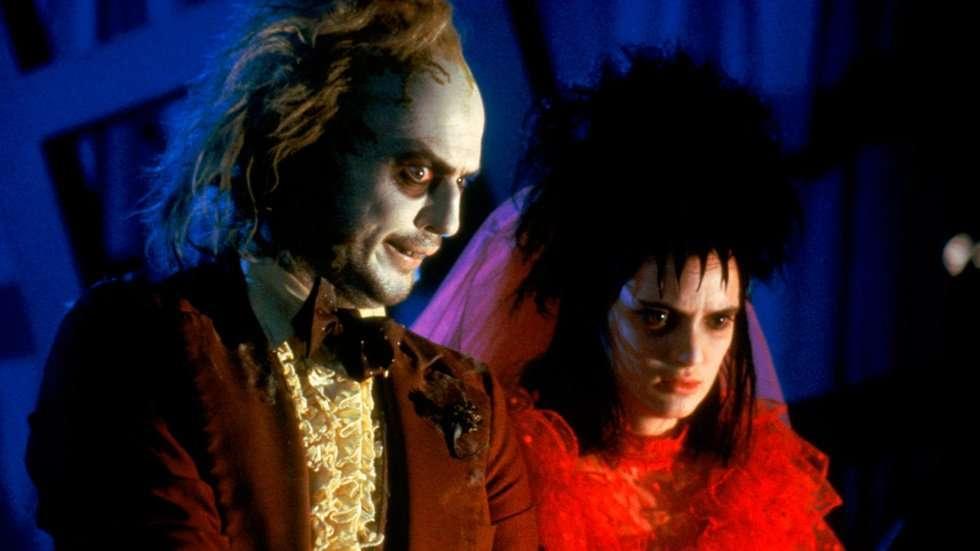 Michael Keaton y Winona Ryder fueron los personajes principales de 'Beetlejuice' en 1988. Foto: Warner Bros. Pictures