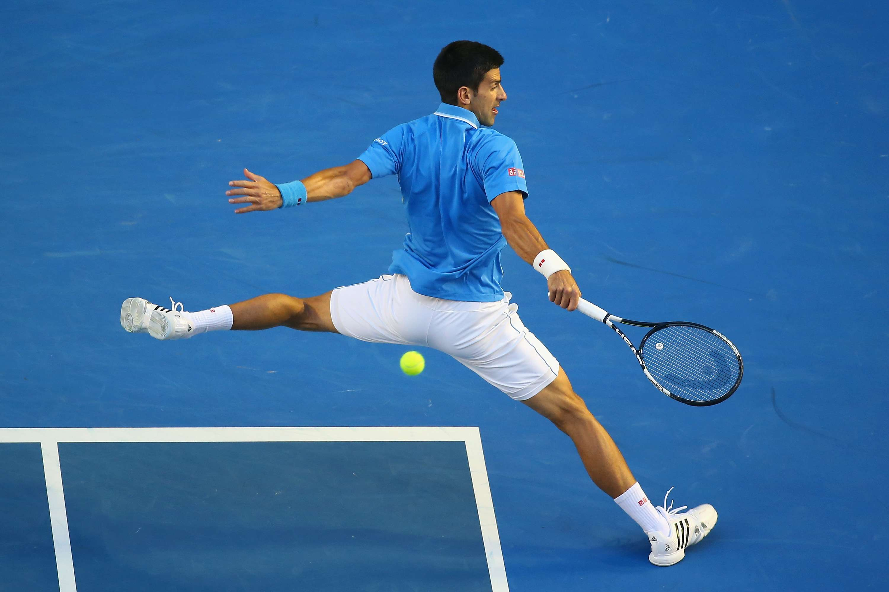 Djokovic dio una exhibición ante Raonic. Foto: Getty Images