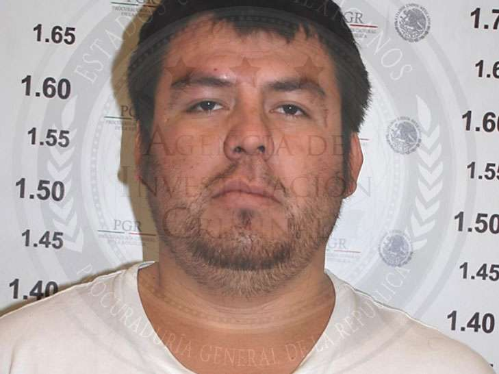 Felipe Rodríguez Salgado intentó huir a Estados Unidos pero al no lograrlo, viajó a Morelos, donde fue detenido. Foto: PGR