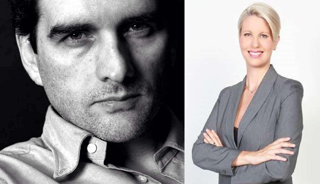 Félix de Bedout y Claudia Gurisatti. Foto: Archivo particular