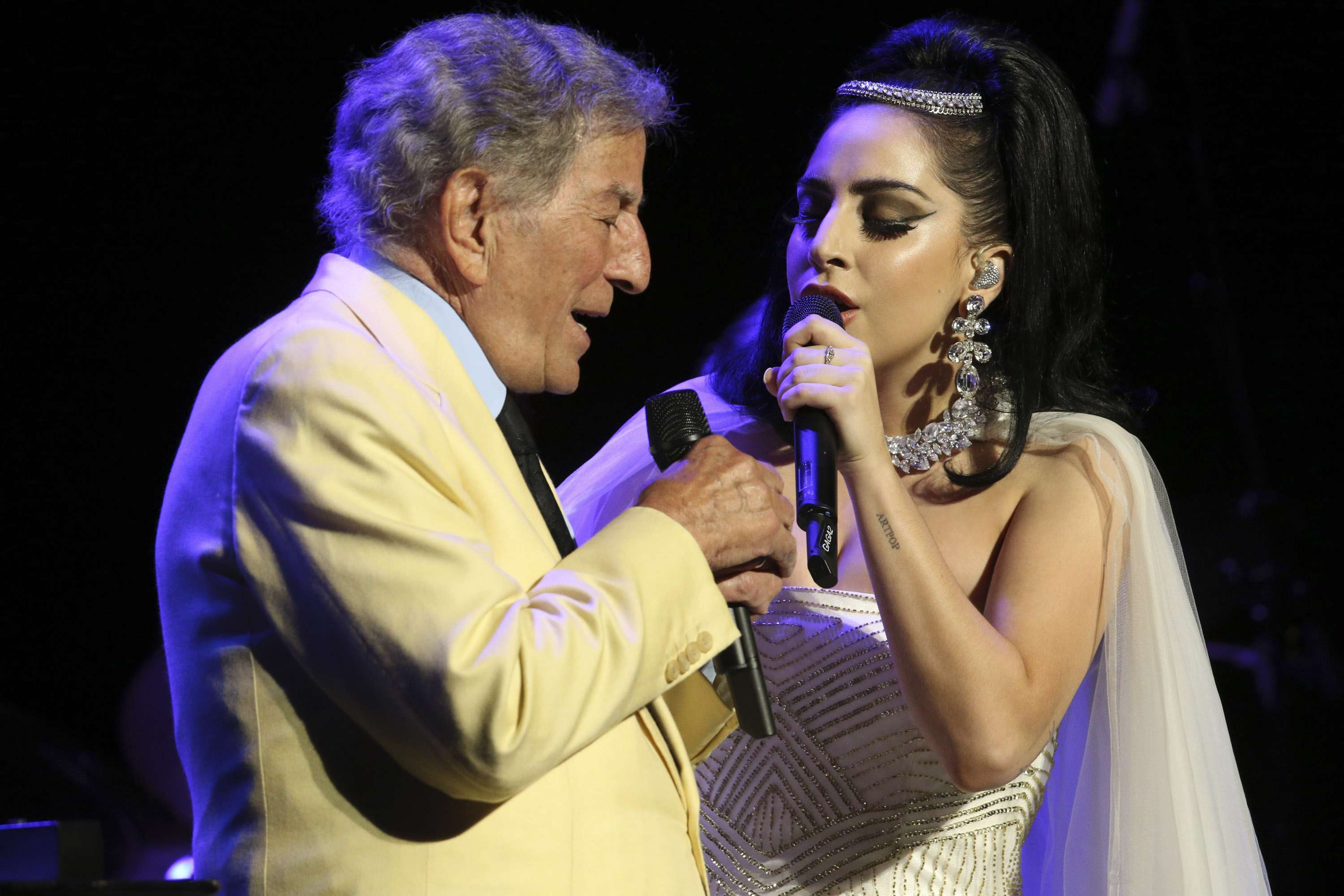Lady Gaga y Tony Bennett cantarán en la ceremonia de los Grammy. Foto: Getty Images