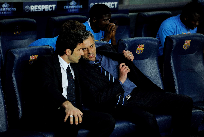Mourinho apoyo a Figo como candidato. Foto: Getty Images