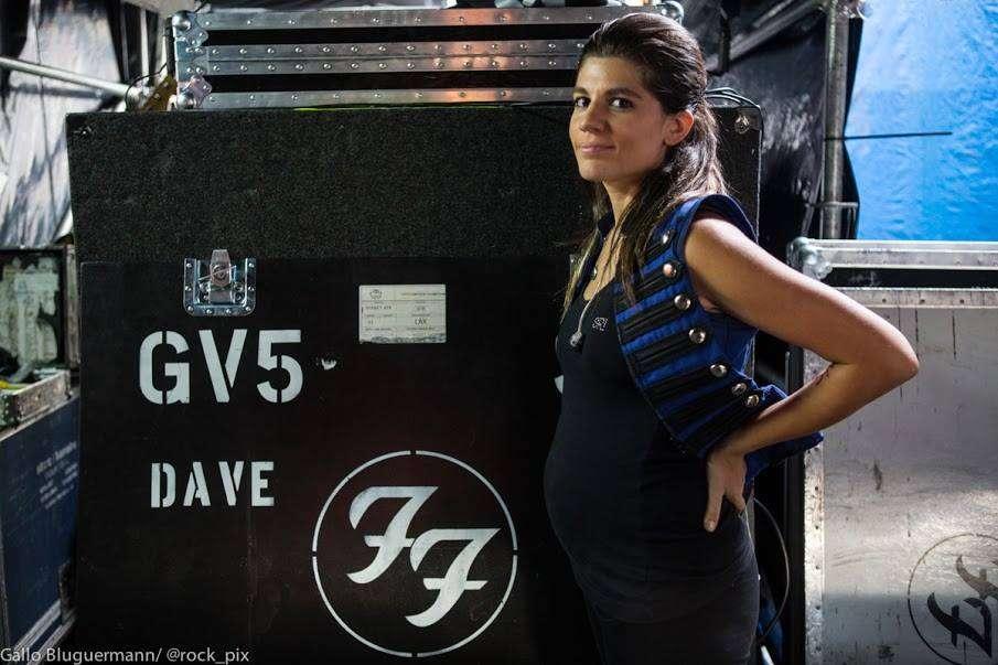 La cantante y guitarrista, que está embarazada, se cansó de los continuos cortes de luz. Foto: Facebook Lula Bertoldi