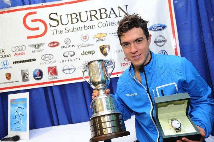 Miguel Ánguel Rodríguez, campeón del Motor City Open de squash. Foto: themotorcityopen.com/themotorcityopen.com
