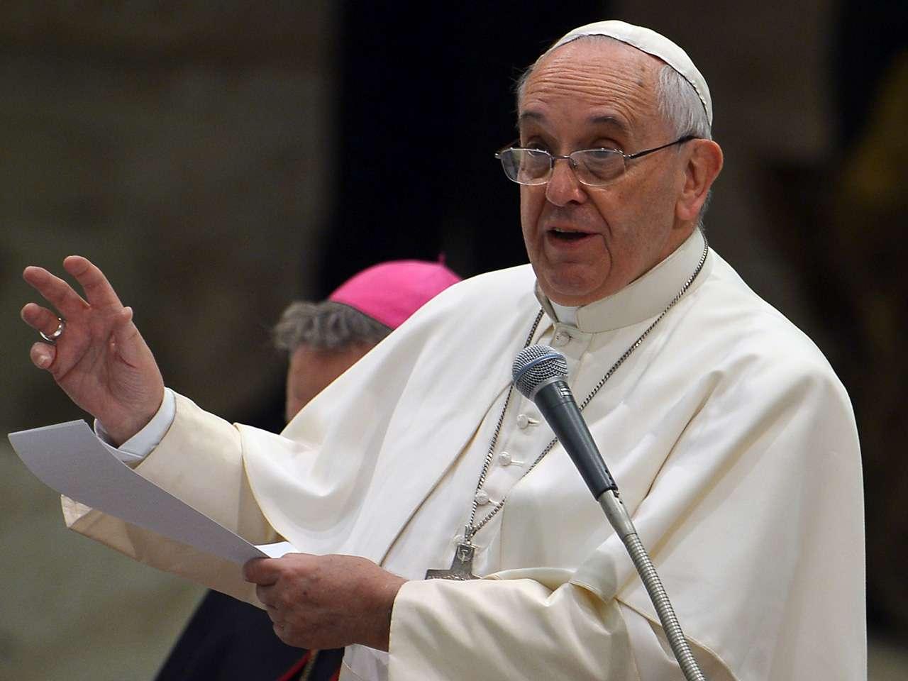 El papa Francisco presidió la habitual audiencia general de los miércoles Foto: AFP en español